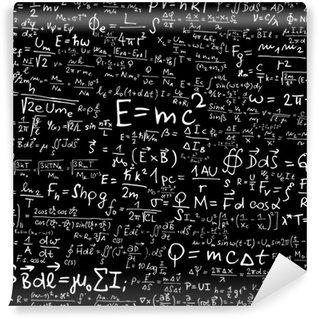 Papier Peint Vinyle Formules et des équations physiques