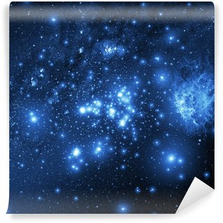 Papier Peint Vinyle Galaxie (Collage à partir d'images de www.nasa.gov)