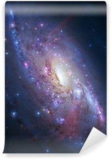 Papier Peint Vinyle Galaxie spirale dans l'espace profond. Éléments de l'image fournie par la NASA