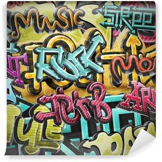 Papier Peint Vinyle Graffiti grunge