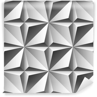 Papier Peint Vinyle Gravure seamless pattern