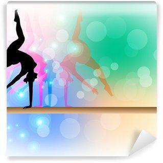 Papier Peint Vinyle Gymnastique artistique - Poutre