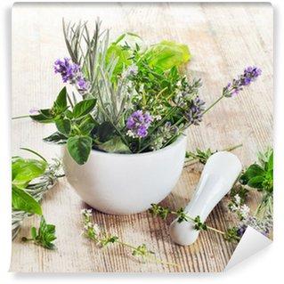 Papier Peint Vinyle Herbes fraiches