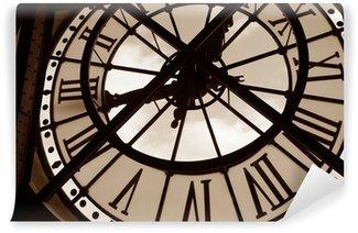 Papier Peint Vinyle Horloge au Musée d'Orsay. Paris, France