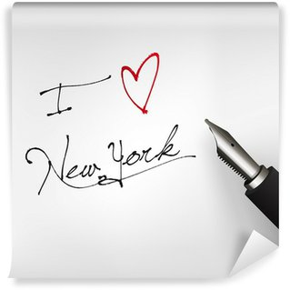 Papier Peint Vinyle I love new york