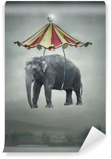 Papier Peint Vinyle Imagination éléphant