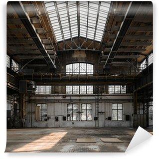 Papier Peint Vinyle Intérieur industriel d'une ancienne usine