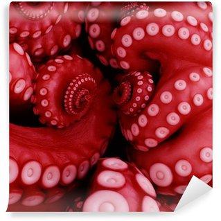 Papier Peint Vinyle Japonais poulpe