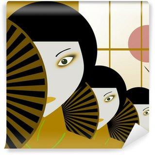 Papier Peint Vinyle Japonais