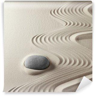 Papier Peint Vinyle Jardin zen japonais