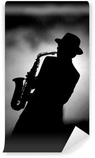 Papier Peint Vinyle Jazz saxo