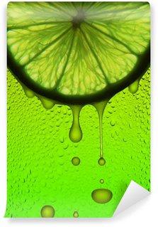 Papier Peint Vinyle Jus de citron