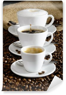 Papier Peint Vinyle Kaffee