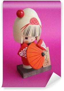 Papier Peint Vinyle Kokeschi japonais
