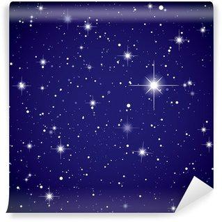Papier Peint Vinyle L'espace d'affichage étoile ciel