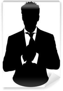 Papier Peint Vinyle L'homme d'affaires, costume avatar