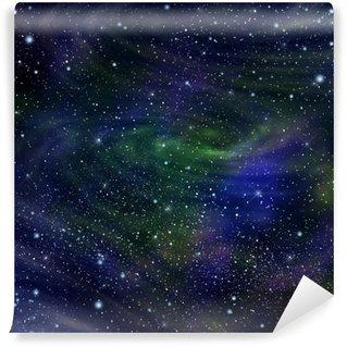 Papier Peint Vinyle L'image de la galaxie de l'espace, illustration