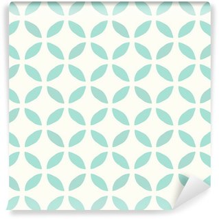 Papier Peint Lavable Motif continu. Dessiné main. Fleur. Background design
