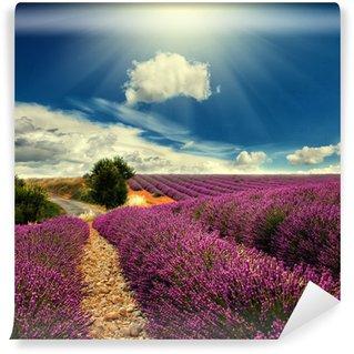 Papier Peint Vinyle Lavender field