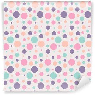 Papier Peint Vinyle Le modèle de points sans soudure