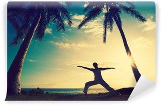 Papier Peint Vinyle Le yoga