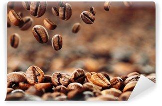 Papier Peint Vinyle Les grains de café 4