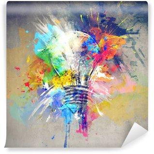 Papier Peint Vinyle Lumière colorée