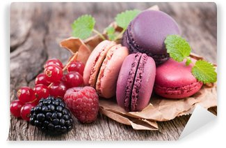 Papier Peint Vinyle Macarons, Waldfrucht