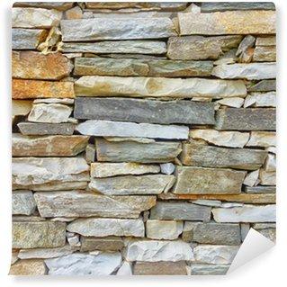 Papier Peint Vinyle Marbre et mur de pierre gros plan