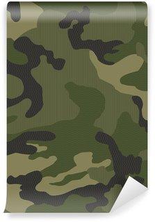 Papier Peint Vinyle Micro motif camouflage sans soudure