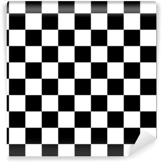 Papier Peint Vinyle Modèle noir et blanc