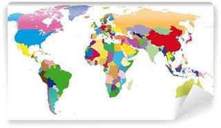 Papier Peint Vinyle Monde-couleurs