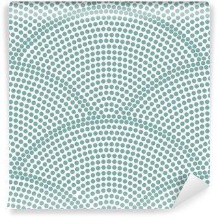 Papier Peint Vinyle Motif de vagues de l'océan transparente japonais
