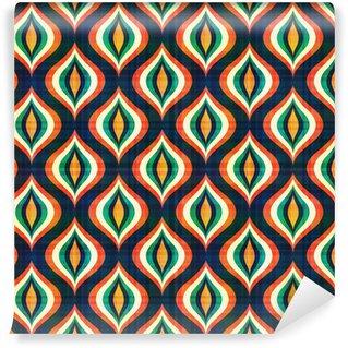 Papier Peint Vinyle Motif géométrique abstrait sans soudure