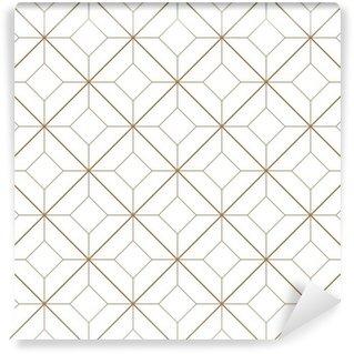 Papier Peint Vinyle Motif géométrique