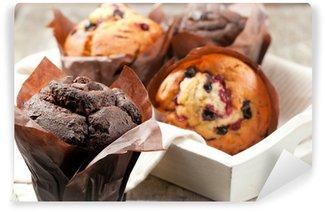 Papier Peint Vinyle Muffins