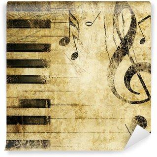 Papier Peint Vinyle Musique grunge