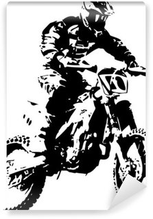 Papier Peint Vinyle Mx rider