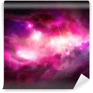 Papier Peint Vinyle Nébuleuse de l'espace - nuage interstellaire