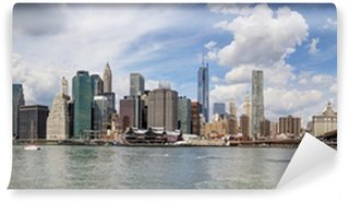 Papier Peint Vinyle New York - Panorama di Manhattan