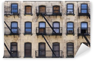 Papier Peint Vinyle New York Tenement Building