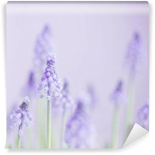 Papier Peint Vinyle Niebieski kwiat