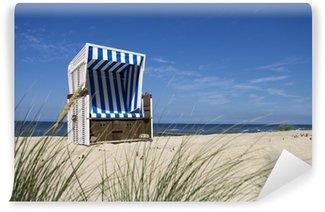 Papier Peint Vinyle North Sea chaise de plage