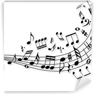 Papier Peint Vinyle Note musique