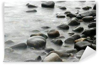 Papier Peint Vinyle Océan pierres