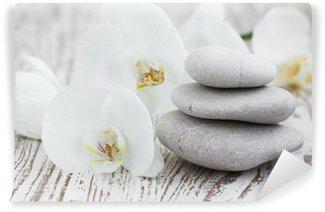 Papier Peint Vinyle Orchidées spa