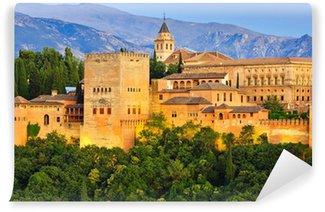 Papier Peint Vinyle Palais de l'Alhambra, Grenade, Espagne