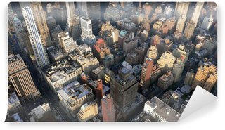 Papier Peint Vinyle Panorama de new-york