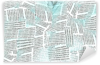 Papier Peint Vinyle Papier peint journal