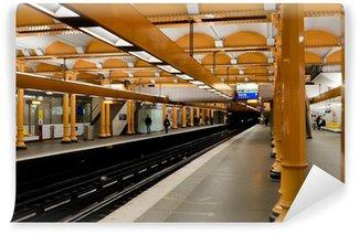 Papier Peint Vinyle Paris metro subway station